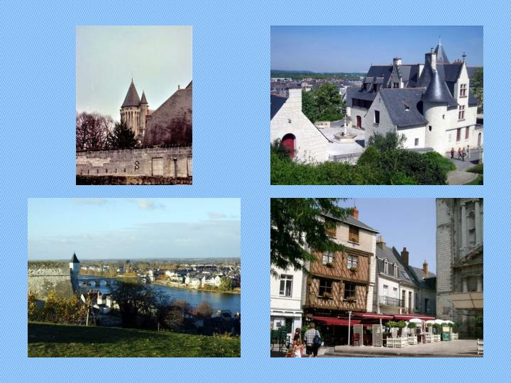 Tourist photos of saumur france
