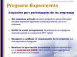 programa experimenta2