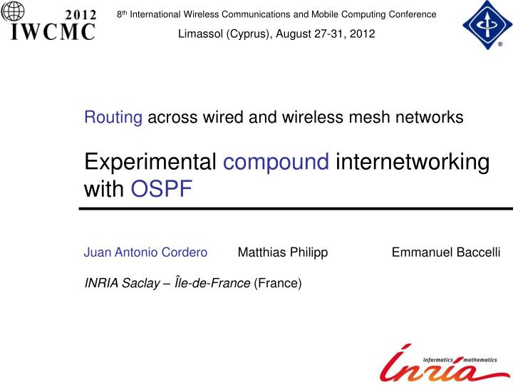 Routing Across Wired And Wireless Mesh