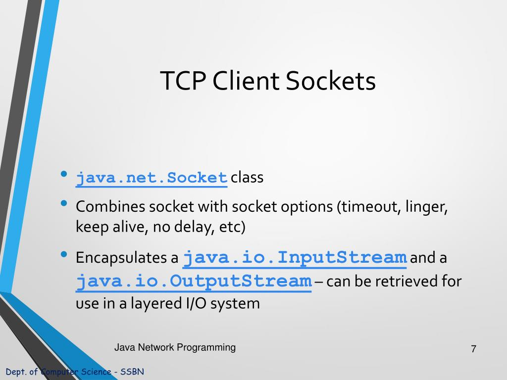 PPT - Java Network Programming PowerPoint Presentation - ID:4967909
