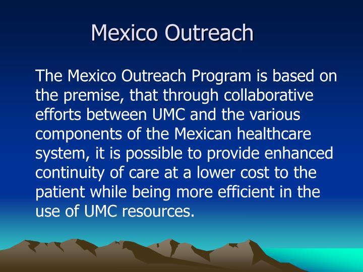 Mexico outreach
