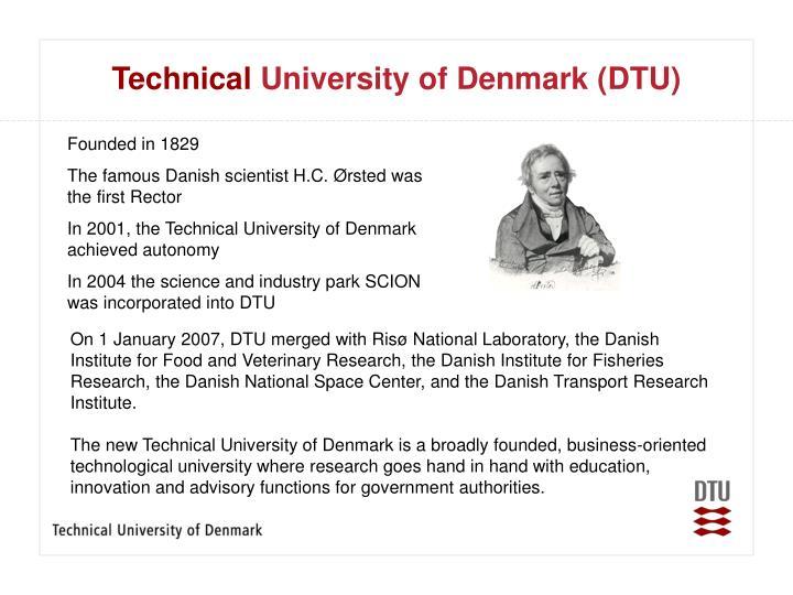 Technical university of denmark dtu