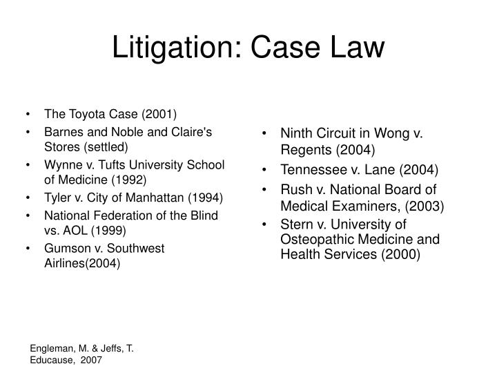 The Toyota Case (2001)