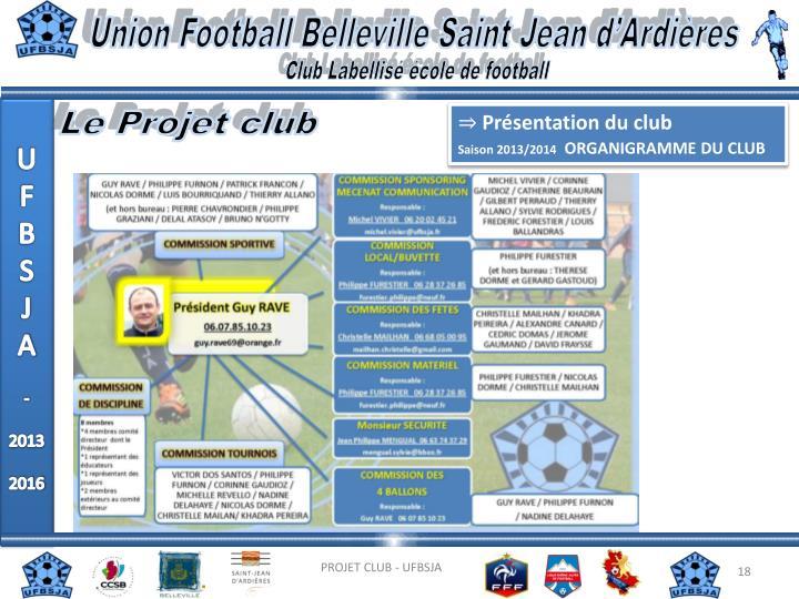 Union Football Belleville Saint Jean d'Ardières