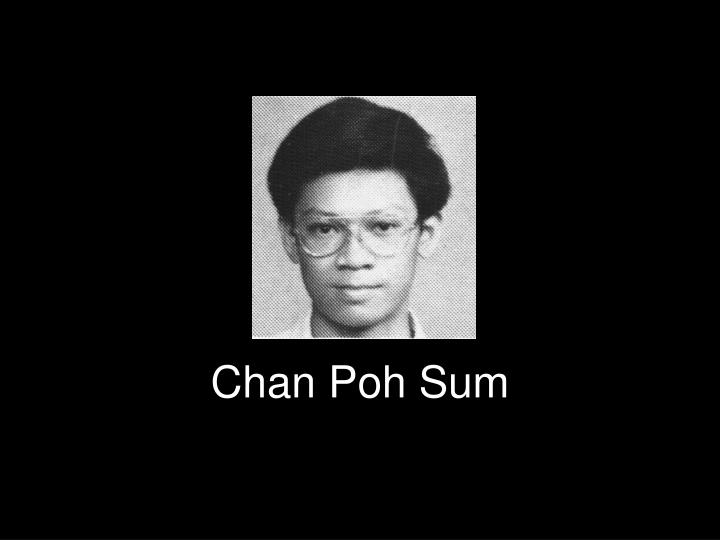 Chan Poh Sum