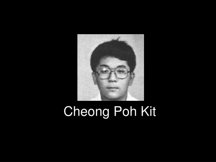 Cheong poh kit