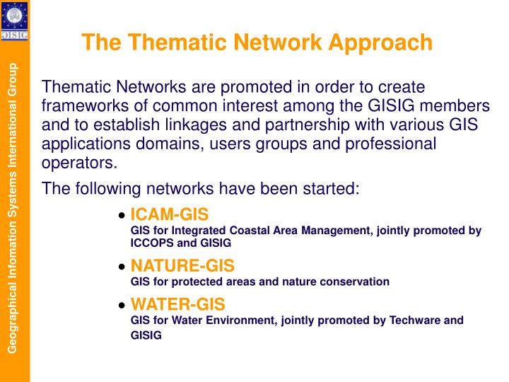 The Thematic Network Approach