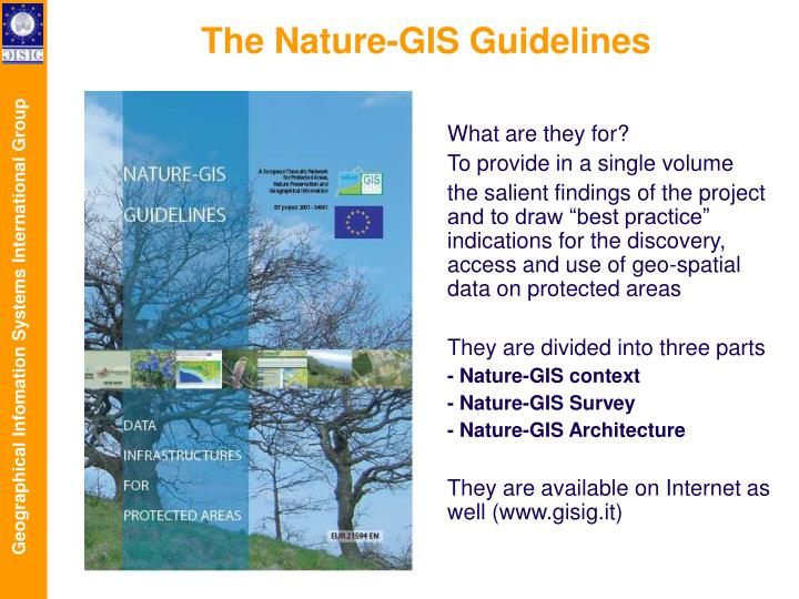 The Nature-GIS Guidelines