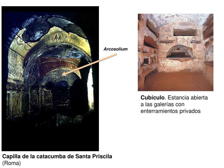 Capilla de la catacumba de Santa Priscila