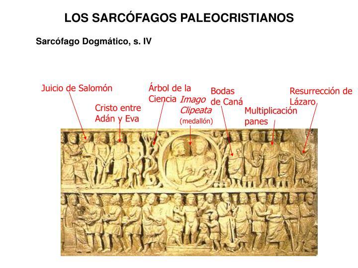 LOS SARCÓFAGOS PALEOCRISTIANOS
