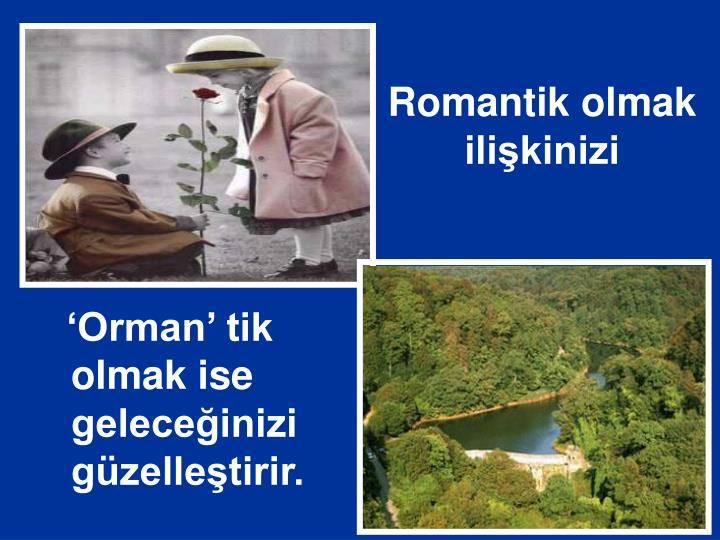 Romantik olmak ilişkinizi
