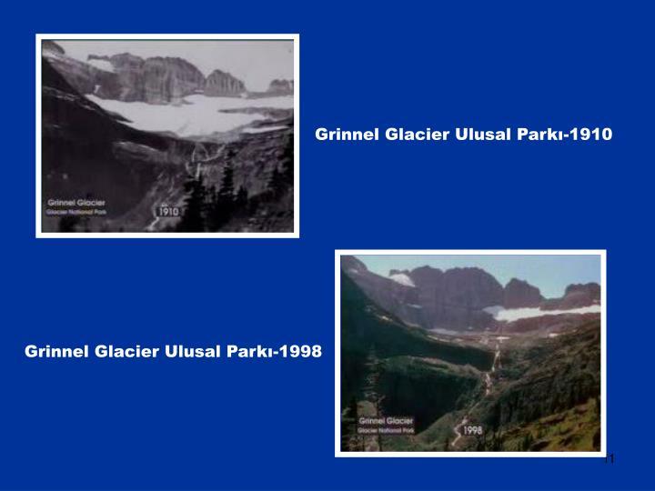 Grinnel Glacier Ulusal Parkı-1910