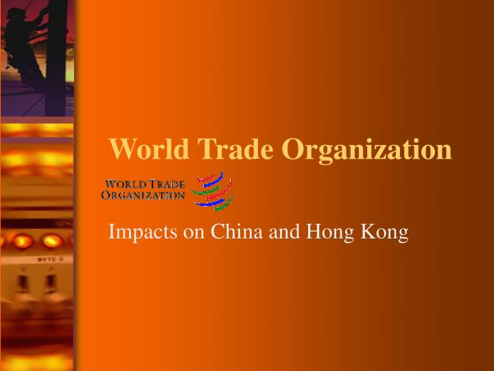 role of world trade organization wto in The wto is the only international body dealing with the rules of trade between nations at its heart are the wto agreements, the legal ground-rules for international commerce and for trade policy.