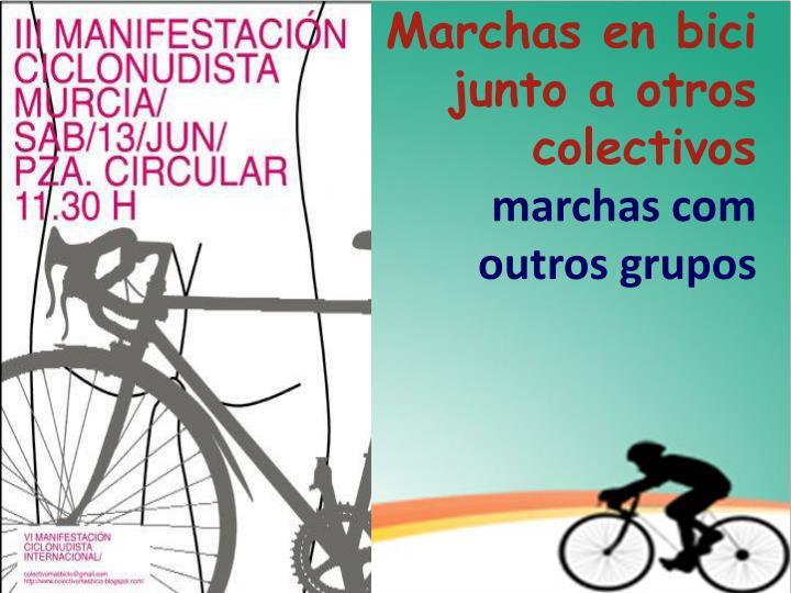 Marchas en bici