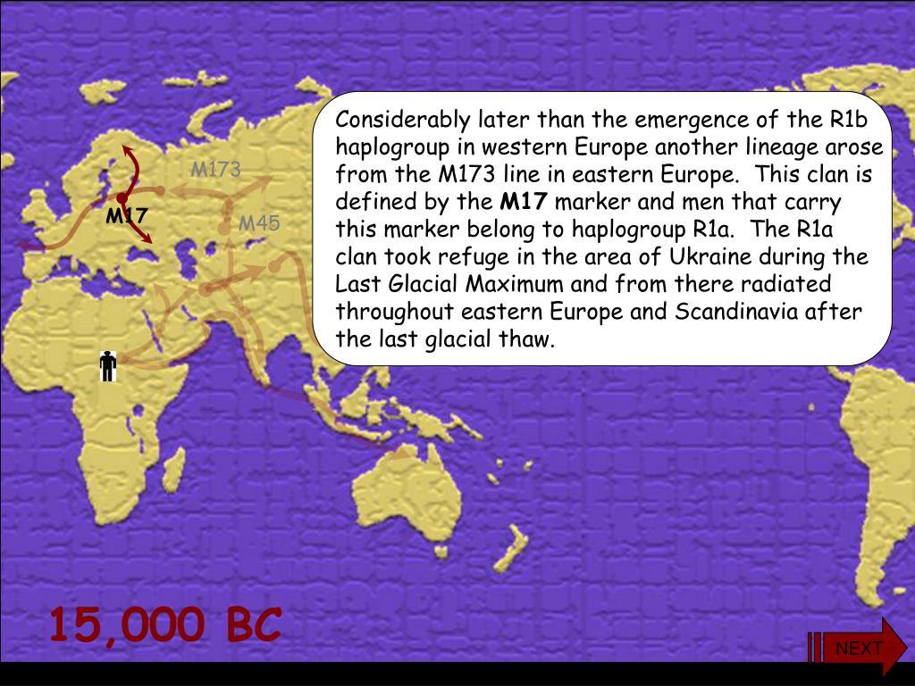 PPT - 15,000 BC PowerPoint Presentation - ID:4970514