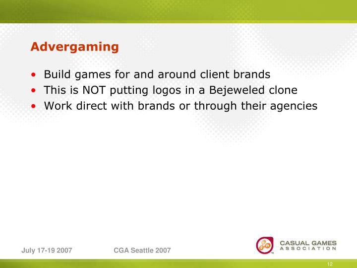 Advergaming