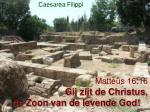 matte s 16 16 gij zijt de christus de zoon van de levende god