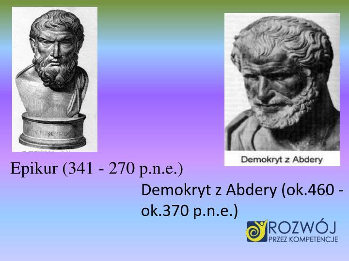 Epikur (341 - 270 p.n.e.)