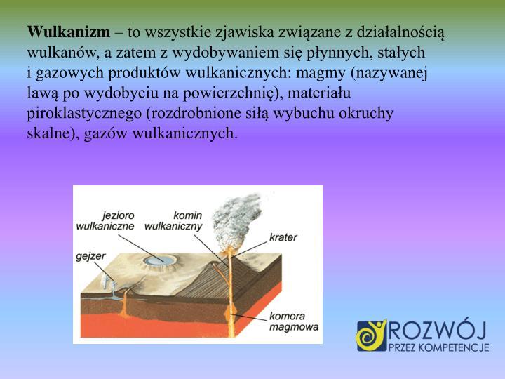 Wulkanizm