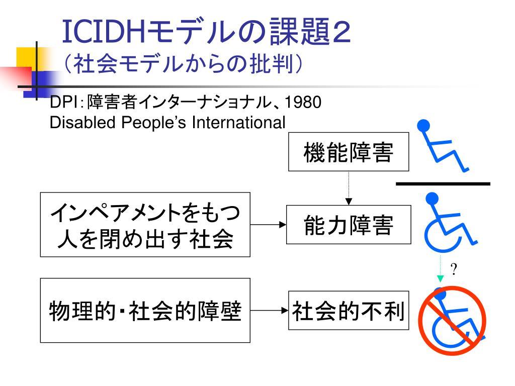 就労支援のため の ICF 国際生活機能分類入門 - PowerPoint PPT Presentation