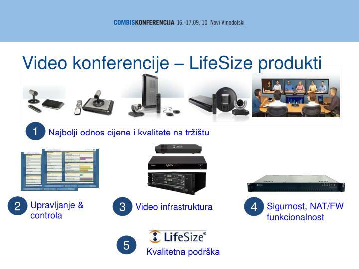 Video konferencije – LifeSize produkti