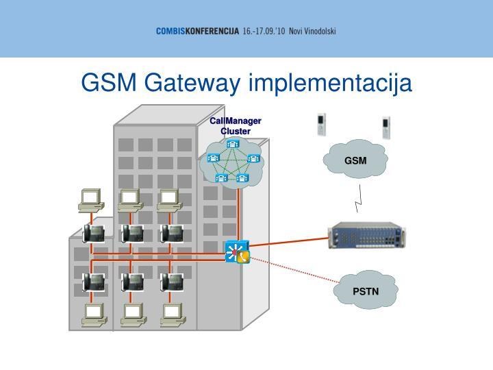 GSM Gateway implementacija