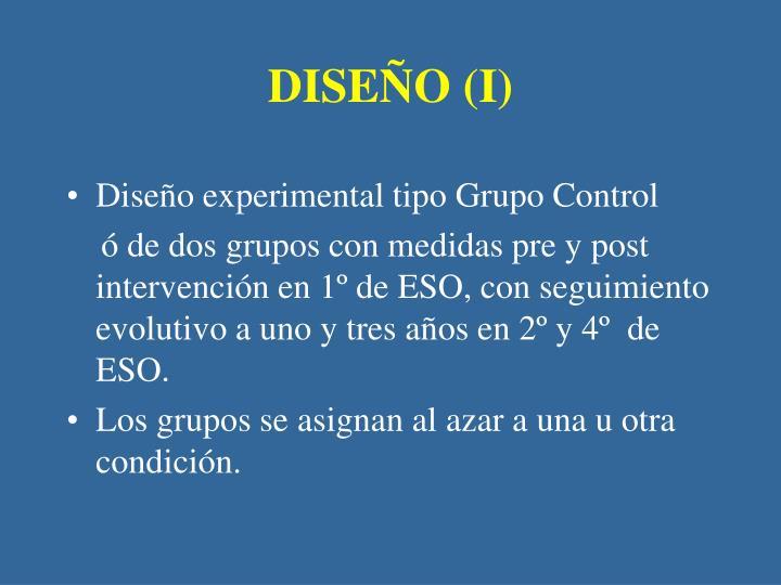DISEÑO (I)