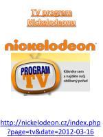 tv program nickelodeonu