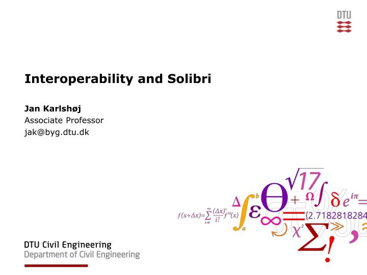 Ppt Interoperability And Solibri Powerpoint Presentation Free Download Id 4972805