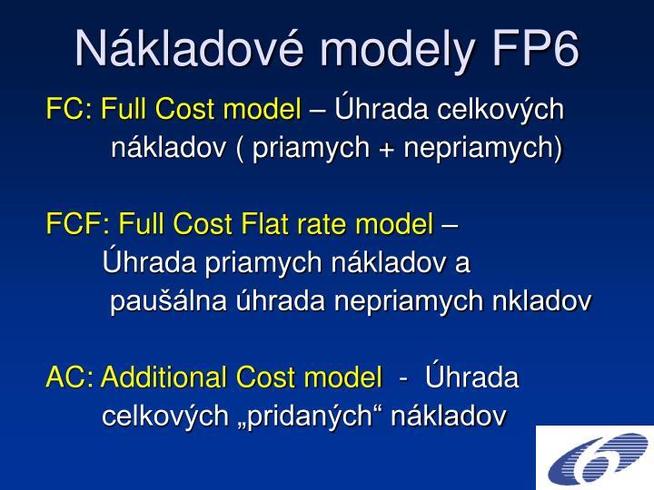 N kladov modely fp6