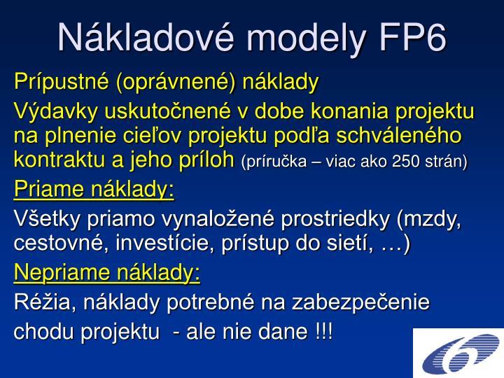 N kladov modely fp61