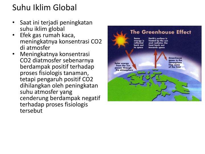 Suhu Iklim Global