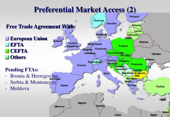 Preferential Market Access (2)