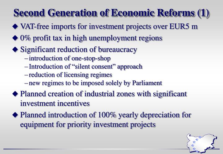 Second Generation of Economic Reforms (1)