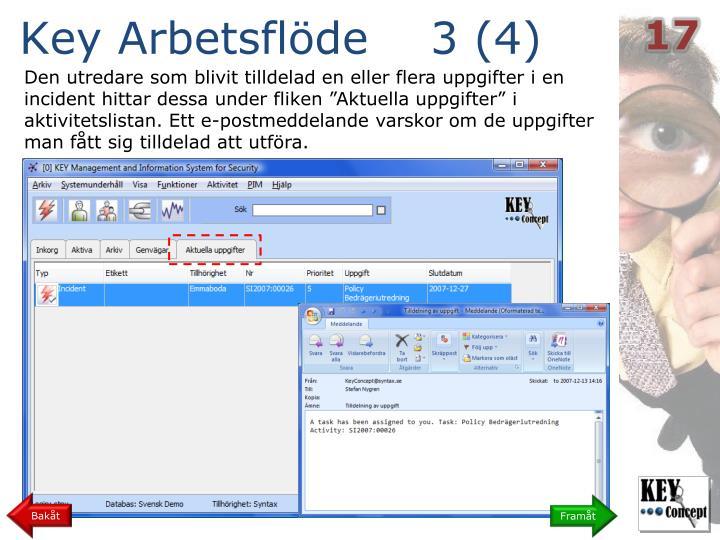 Key Arbetsflöde    3 (4)