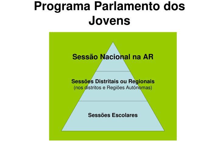 Programa Parlamento dos Jovens