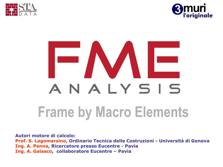 Frame by Macro Elements