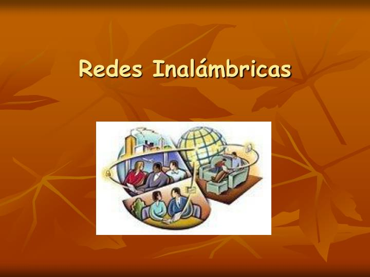 redes inal mbricas n.