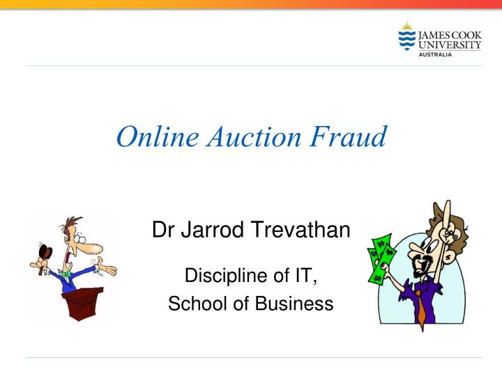 online auction fraud n.