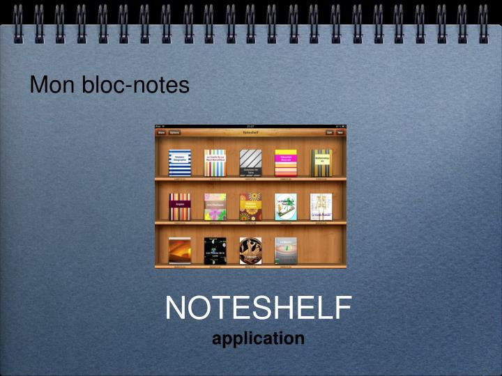 Mon bloc-notes