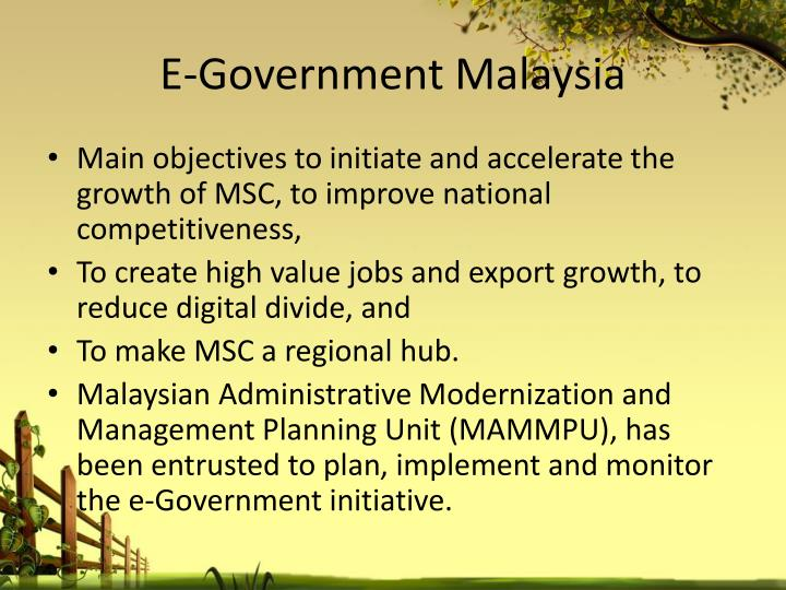 E-Government Malaysia