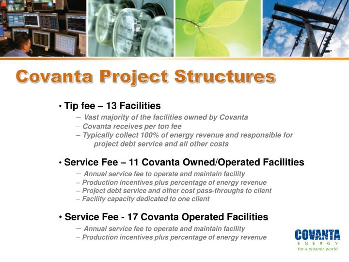 Covanta Project Structures
