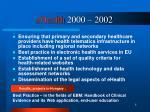 ehealth 2000 2002