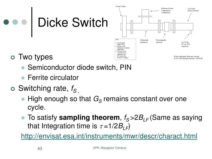 Dicke Switch