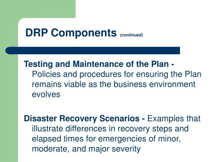 DRP Components