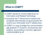 what is cobit