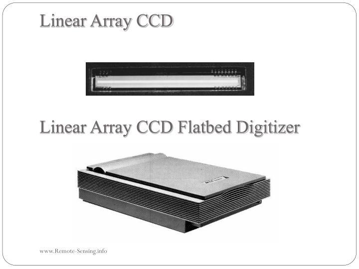 Linear Array CCD