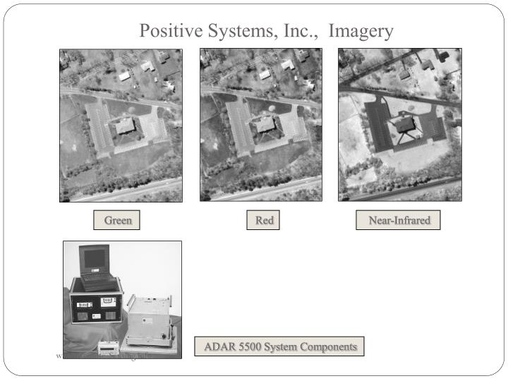 Positive Systems, Inc.,  Imagery