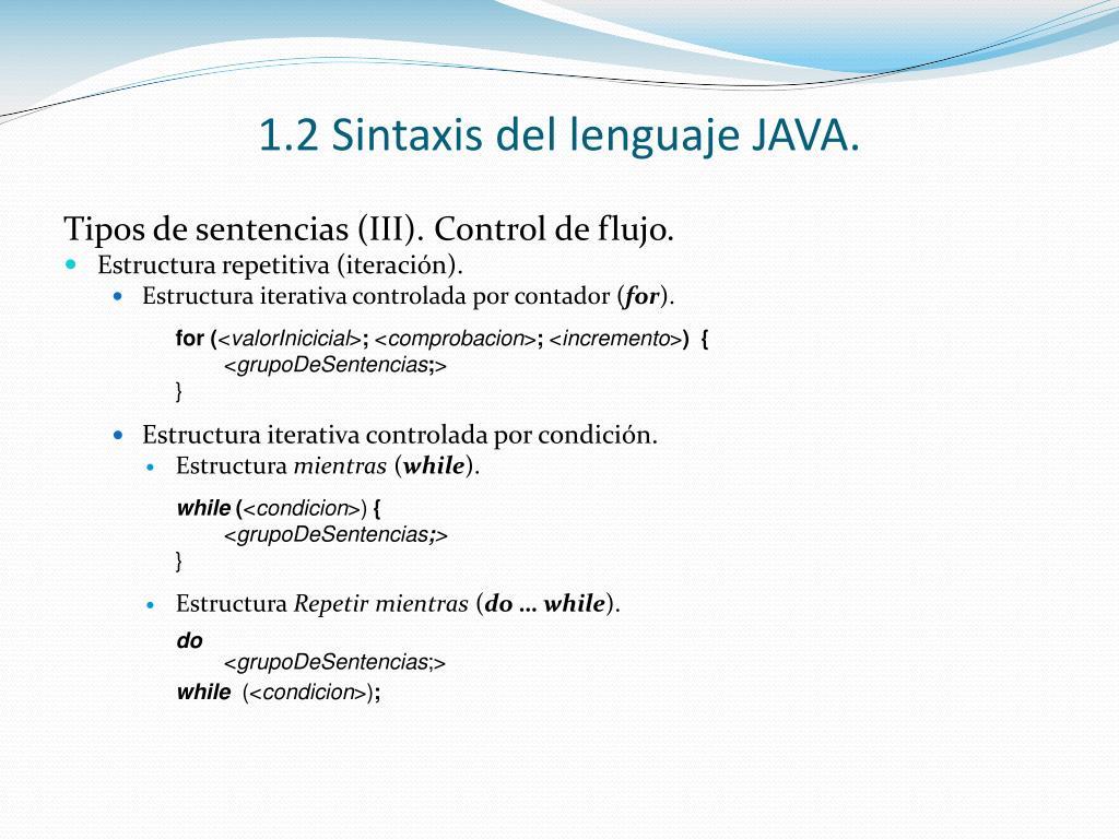 Ppt Tema 1 Introducción A La Programación Lenguaje Java