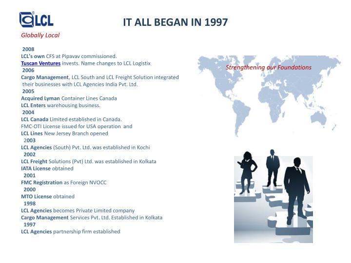 It all began in 1997